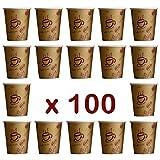 '100 Unidades. Coffee To Go – Vasos Desechables para café, cartón...