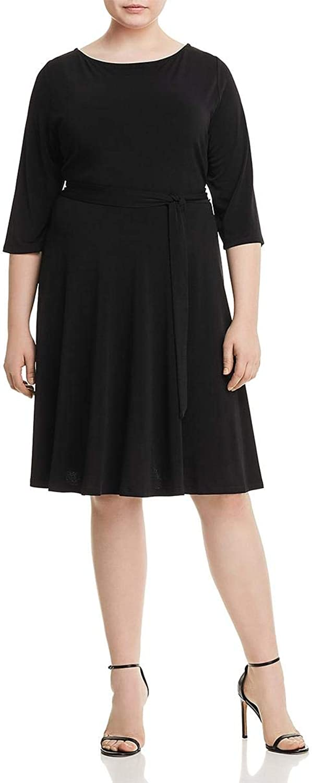 Leota Womens Jersey Office Wear to Work Dress