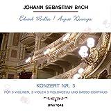 Konzert Nr. 3 - für 3 Violinen, 3 Violen, 3 Violoncelli und Basso continuo G Major, BWV 1048: Adagio (Kadenz)