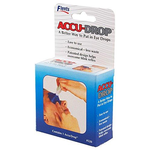 Flents Accu-Drop - Easy to Use Eye Drop Dispenser