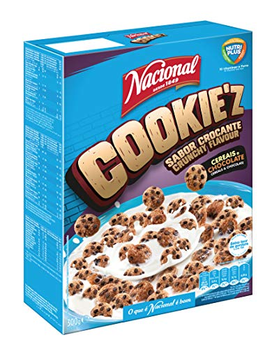 Nacional Desde 1849 Cookies Z, Chocolate, 300 Gramos