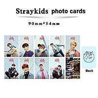 10ピース/セットkpopストレイキッズ写真カード新しいアルバムミロHD良質のファンコレクションファッションストレイキッズ写真カードkpop
