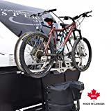 Futura GP RV Bike Rack for Travel Trailer Tongue A-Frame Bike Rack Bike Hitch Mount Rack (2-Inch Reicever)