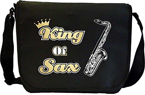 Musicalitee Saxophone Sax Tenor King - Sheet Music Messenger TRIO Document Bag Musik Notentasche