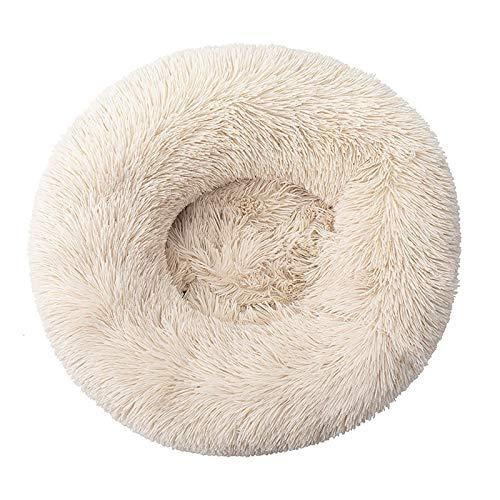 GUODIU Hundebett Warme Tragbare Hundesofa Flauschig für Katzen und Hunde (Color : Light Brown, Size : 70CM)