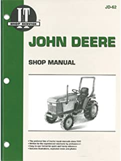 JD62 New Shop Manual for John Deere Compact Tractor 1070 655 770 870 970