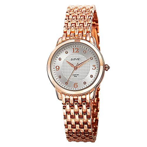 August steiner Damen-Armbanduhr Woman AS8133RG Analog Quarz AS8133RG