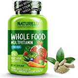 NATURELO Whole Food Multivitamin for Men - Natural Vitamins, Minerals, Antioxidants, Organic...