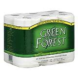 Green Forest 2 Ply White Bathroom Tissue -- 4 per case.