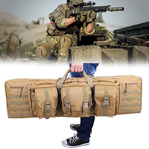 Eortzzpc Bolsa De Transporte para Armas De Caza, Funda para Escopeta, Portátil Y Práctico, Tiene Correas Internas De Gancho Y Forro Acolchado Suave para Mantener Sus Armas En El Lugar Adecuado