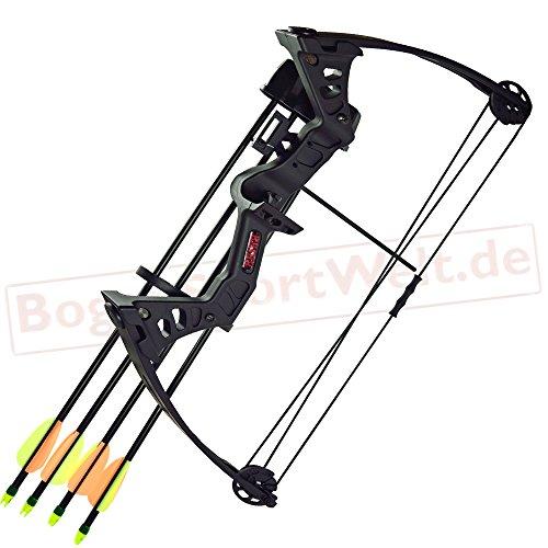 Strongbow Besra - 19-25 lbs - Compoundbogen | Farbe: schwarz