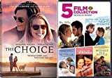 Choice Romance Movies Nicholas Sparks The Notebook / A walk to Remember / Nights in Rodanthe / Message in a Bottle / Lucky One & The Choice DVD Set Love Bundle Collection 6 pack
