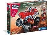 Clementoni-55277 - Mechanics - Monster truck - juego de construcciones mecánica a partir de 8 años