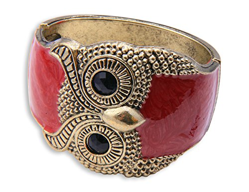 Original Enez Damen Kette Armband Armkette Choker Armreifen Eule R714