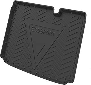 Pecute Car Boot Liners,Rubber Boot Cover Waterproof Boot Mats Rear Trunk Pad Cargo Liners Floor Mat for Fo-rd Focus/Fiesta...