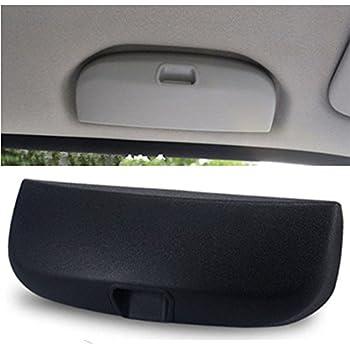 Outbit Auto Sonnenbrillenhalter 1 Pc Universal Grau Beige Auto Front Sonnenbrillenhalter Brillenetui Garten