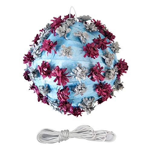 Variant Vi_rus Pinatas for birthday party adult, kids pinatas, boys birthday party or girls birthday party pinata, Co_vid pinata. Holding 1 pound of Candies, Party supplies.