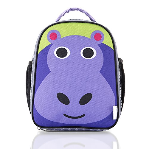French Bull Lunch Bag - Insulated, Kids, Womens, Backpack, Fashion, Work, School - Hippo