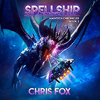 Spellship audiobook cover art