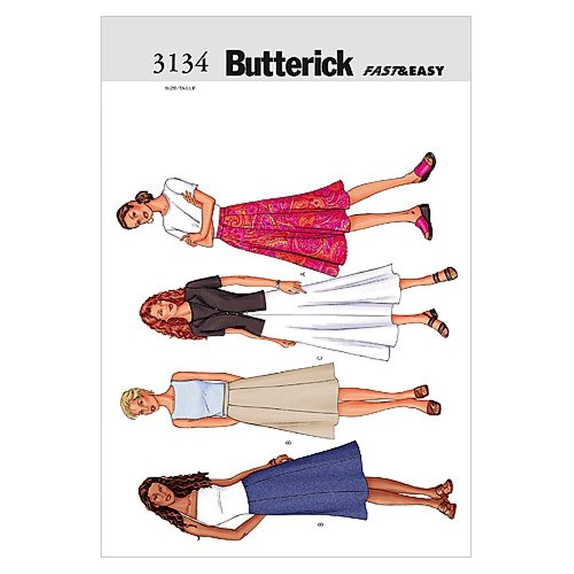 BUTTERICK PATTERNS B3134 Misses' Skirt, Size 20-22-24