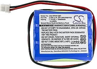 KML Battery for Visonic 0-9912-M 0-9913-W 103-303687