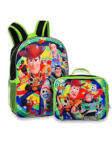 Toy Story 4 - 16' Backpack with Detachable Matching Lunch Box