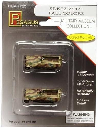 Precio al por mayor y calidad confiable. SDKFZ 251 1 Fall Colors - 1 144 Scale Pegasus Pegasus Pegasus Models (Military Museum Collection) by Pegasus  Nuevos productos de artículos novedosos.