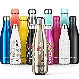 Proworks Edelstahl Trinkflasche | 24 Std. Kalt und 12 Std. Heiß - Vakuum Wasserflasche -...
