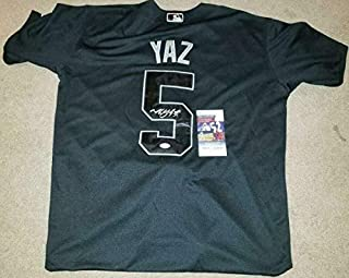 San Francisco Giants Mike Yastrzemski Autographed Signed Memorabilia Players Weekend Yaz Jersey With JSA