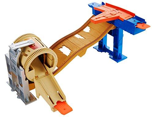 Hot Wheels – Piste meneur Stunt Barrel – matbgx75. bgx81 – Mattel