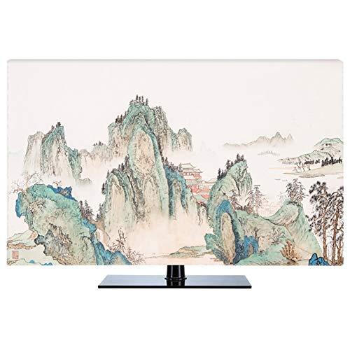 LIUDINGDING-zheyangwang Cubierta de TV Nuevo Chino A Prueba De Polvo Protege Los Televisores TV LCD Display (Color : Valley, Size : 22inch)