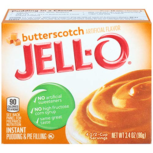 Jello-O Instant Pudding - Butterscotch
