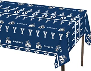 Creative Converting BYU Cougars Plastic Banquet Table Cover