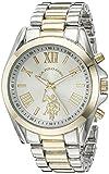 Reloj U.S. Polo Assn. para Mujer 41mm, pulsera de Acero Inoxidable