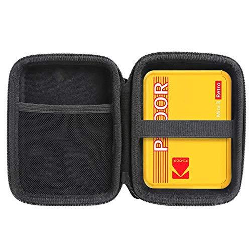 Aenllosi Funda Caso para Kodak Mini Shot Combo 3 Retro Impresora portátil y cámara instantánea para Zink Papeles fotográficos (Amarillo)