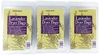 Trader Joes Lavender Dryer Bags (Pack of 3) by Trader Joe's