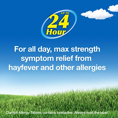 Clarityn Allergy Relief Tablet | Hayfever Relief Tablet | Loratadine | Antihistamine | All day maximum strength symptom relief with one tablet per day | Pack of 30
