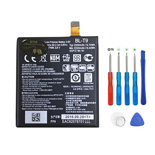 Swark BL-T9 - Batería para LG Google Nexus 5 LG D820 D821 con herramientas