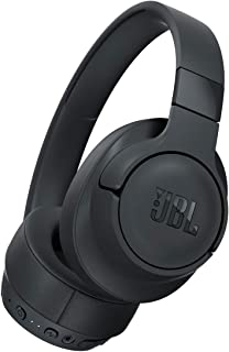 JBL TUNE 750BTNC - Wireless Over-Ear Headphones with Noise Cancellation - Black