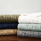 Cozy Cable Knit Throw | Pottery Barn
