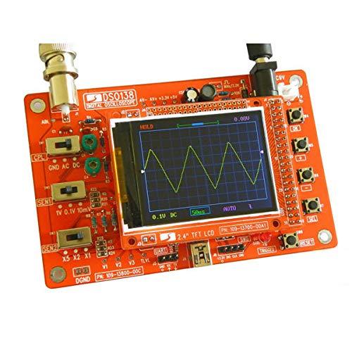 Módulo electrónico Kit de osciloscopio digital Kit de aprendizaje electrónico DIY Equipo electrónico de alta precisión