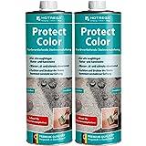 HOTREGA Protect Color Farbvertiefende Steinveredelung 1 Liter - Imprägnierung, Steinschutz, Mengen:2