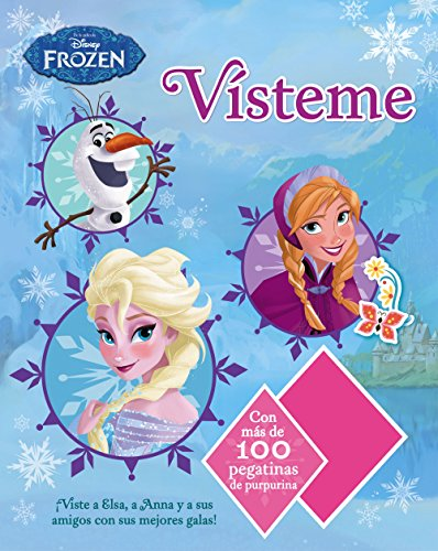 Frozen. Vísteme: Con más de 100 pegatinas con purpurina (Disney. Frozen)