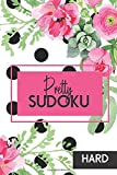 Hard Sudoku: Pretty Pocket-Size Sudoku Puzzle Book for Adults. Small Travel Size, Perfect for Purse, Briefcase or Bag