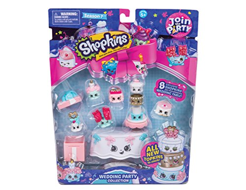Shopkins HPK78201 Deluxe Wedding Party Collection P