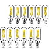 Dimmable T6 LED Bulbs, 40W Candelabra Light Bulbs 2700K...
