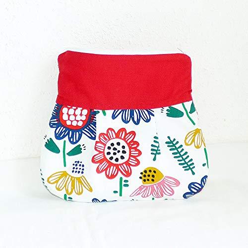 Kosmetiktasche Baumwolle, Blumen, Necessaires, Kulturbeutel, Toilettenbeutel, Kulturtasche, Reisetasche