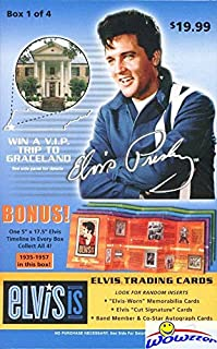elvis presley cards worth