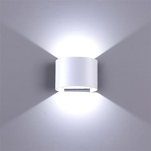 BELLALICHT LED Applique Murale Extérieur - 12W 600LM Lampes Murales leds intérieures extérieures Blanche Lumière 6000...