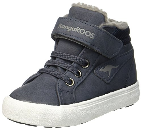 KangaROOS KaVu III Unisex Baby Sneaker, Blau (Dark Navy/Grey 423), 25 EU